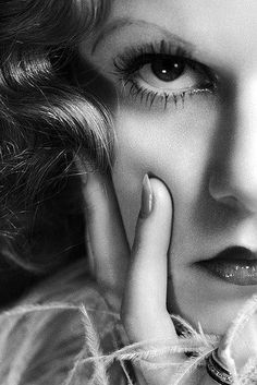 Greta Garbo (close up perfection!)