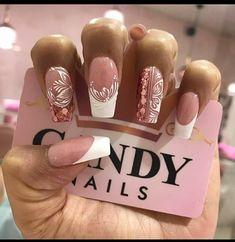 Gel Nails, Acrylic Nails, Love Nails, Nail Designs, Pretty, Hair Beauty, Instagram, Mariana, Amor