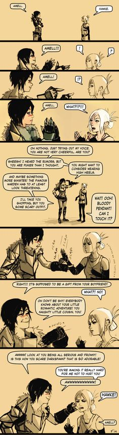 Amell meets Hawke 01 by chakhabit on deviantART