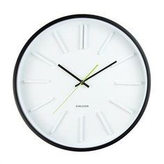 Karlsson Embossed station clock 40cmD, $90