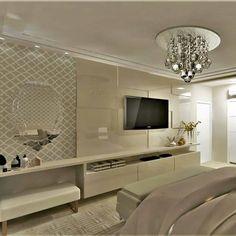 Tv Unit Bedroom, Bedroom Tv Wall, Bedroom Wall Designs, Bedroom False Ceiling Design, Luxury Bedroom Design, Master Bedroom Design, Home Decor Bedroom, Interior Design Living Room, Living Room Tv Unit Designs