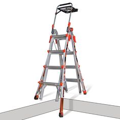 Little Giant Xtreme Aluminium Ladder Versatile Telescopic Multi-Purpose Ladder