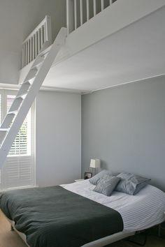 slaapkamer met zoldertje