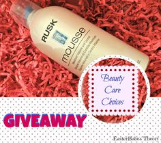 WIN Rusk Mousse Maximum Volume and Control #BeautyCareChoic #Rusk #mousse #giveaway #EBTheory @easterchic26 @BCCinc