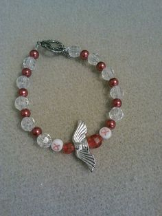 angelwings stroke awareness bracelet by crazydesigns2012 on Etsy, $5.00