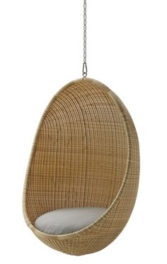 Nanna Ditzel Hanging Egg Chair Exterior