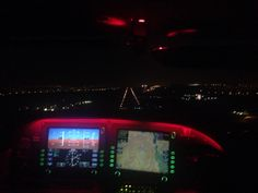 Sbax approach at night