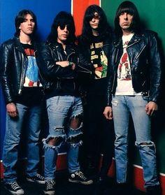 Acid Eaters. Cj, Marky, Joey and Johnny Ramone.