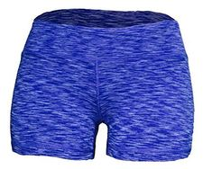 Yoga Shorts - Booty Shorts (Dark Blue Space Dye, These yoga shorts offer a full range of motion. They are sweat-wicking and breathable. Use them for Yoga or any workout. Solid colors are Nylon Spandex. All printed shorts are Polyester spandex Shorts With Tights, Yoga Shorts, Workout Shorts, Short Outfits, Casual Outfits, Under Armour, High Waisted Shorts, Fit Women, Booty