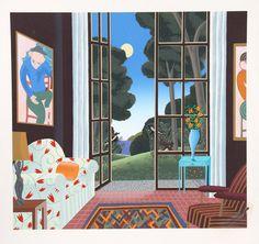 Thomas McKnight Print Thomas Mcknight, Meditation Images, Love Art, Contemporary Artists, Art Images, Illustrator, Christmas Cards, Gallery Wall, Scene