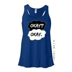 Fault in Out Stars Okay Love Ladies Flowy Racerback Tank-Tanktop Tee... ($15) ❤ liked on Polyvore featuring tops, tank tops, shirts, black, tanks, women's clothing, ruched tank top, ruched shirt, neon tank tops and racerback tank