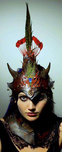 Vincent Cantillon-Fire Elf leather helm