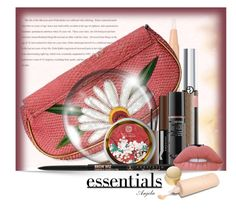 """""""Essentials"""" by anjelakewell ❤ liked on Polyvore featuring beauty, Clinique, NOVICA, Giorgio Armani, Sephora Collection, Algenist, Anastasia Beverly Hills, Lime Crime, Eve Lom and makeup"""