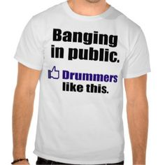 Funny percussion shirt