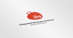 Integrated Business Solutions IBS  logo #Integrated #Business #Solutions #IBS  #Identity #Corporate #logo #logos #logodesign #art #design #karimstudio #orange