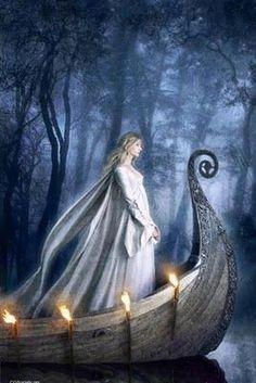 La fée Viviane est aussi la Dame du Lac : elle a enchanté Merlin et guidé Arthur vers Avalon. The fairy Viviane is also the Lady of the Lake: she enchanted Merlin and guided Arthur towards Avalon. Foto Fantasy, Fantasy Kunst, Fantasy World, Fantasy Art, Mists Of Avalon, Illustrations Poster, Roi Arthur, Middle Earth, Tolkien