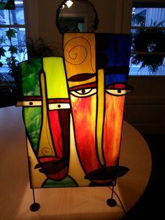 50's style lamp