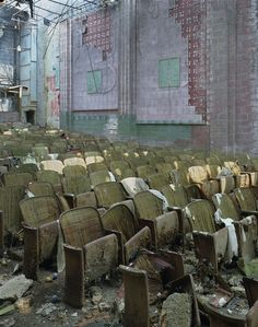 An abandoned theater in boston old movie theaters pinterest theater abandoned - The beauty of an abandoned house the art behind the crisis ...