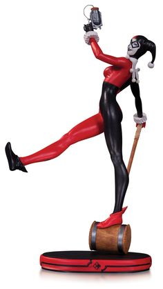 DC Comics Cover Girls Statue Harley Quinn 27 cm ( DC Collectibles )
