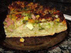 Torta nutritiva de abobrinha