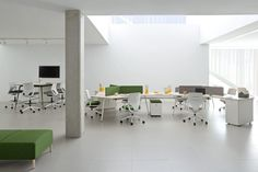 Modern and Contemporary Office Desk Twist Modular Furniture, Office Furniture, Home Furniture, Contemporary Office Desk, Traditional Office, Office Workstations, Meeting Table, Media Cabinet, Information Design