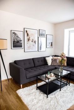 Living Room Interior, Home Living Room, Living Room Designs, Living Room Decor, Living Room Ideas, Small Apartment Living, Home Interior, Living Room Inspiration, Home Furnishings