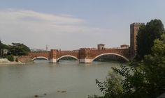 Ponte di Castelvecchio/ Ponte Scaligero, Verona, Luglio 2016