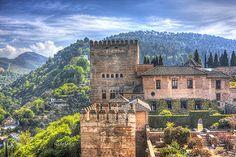 ღღ Granada, Spain | by hph46 Mansions, House Styles, Travel, Granada Spain, Beautiful, Castles, Home Decor, Scenery, Mansion Houses