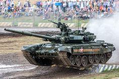 T-90A main battle tank during public demonstration