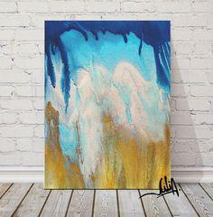 #AbstractWatercolor #OceanAbstract #Painting, #BluePainting #TurquoisePainting #GoldandBlue #Abstract #Watercolor, #Art #GicleePrint, #Seascape, #FineArtPrints, #NauticalPainting, #JuliaApostolova #JuliaArtGifts on #EtsyFine #NauticalDecor