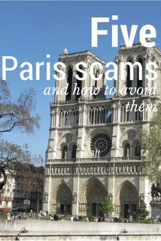 Scammers are everywhere, and unfortunately Paris is no exception #Paristravel