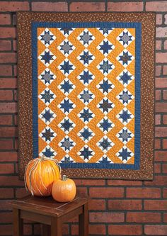 Jo''s Stars by Jo Morton appears in Quiltmaker's Sept/Oct '12 issue.