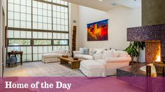 Home of the Day: Get an exotic vibe in this Marina del Rey home, featuring copper accent walls, marble finishes and artistic tiled fireplaces.