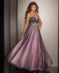 Sweetheart Tulle Black/Pink Floor Length A line Rhinestone Sequins Prom / Homecoming / Evening Dresses By Clarisse 990 – $204.99 – UP TO 70% OFF- 2016 Prom Dresses, Cheap Bridesmaid Dresses And Wedding Dresses Online! – Promgownsale.com