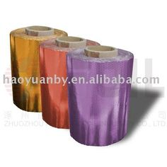 Embossed coloring foil roll for hair perm and dyeing $1~$3.5