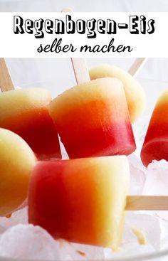 Gelingt ohne Eismaschine aus frischem Obst