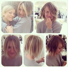 Kaley Cuoco new short hair <3  http://www.lifeandstylemag.com/posts/kaley-cuoco-chops-off-hair-dyes-it-super-blonde-see-the-look-from-every-angle-here-37570