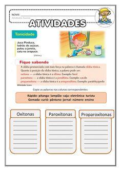 Atividades Adriana : Língua Portuguesa Homeschool Curriculum, Homeschooling, Study, Santa Maria, Pedi, Atv, Decor, Class Activities, Punctuation Activities
