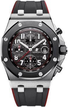 Buy Audemars Piguet Royal Oak Offshore Chronograph Stainless Steel Watches, authentic at discount prices. All current Audemars Piguet styles available. Audemars Piguet Gold, Audemars Piguet Diver, Audemars Piguet Watches, Ap Royal Oak, Royal Oak Offshore Chronograph, Gentleman, Luxury Watches For Men, Beautiful Watches, Watch Brands