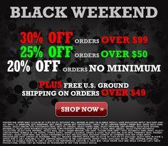 MLB Shop Black Weekend