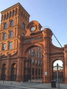 The Manufaktura Building in Lodz Poland Brick Architecture, Historical Architecture, Industrial Architecture, Ancient Architecture, Walking Tour, Amazing Photography, Travel Photography, Thailand Travel, Croatia Travel