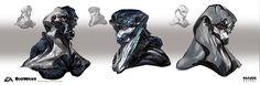Mass Effect Andromeda - Alien head exploration 03, Ben Lo on ArtStation at https://www.artstation.com/artwork/AK6gm?utm_campaign=digest&utm_medium=email&utm_source=email_digest_mailer