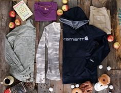 Happy first day of fall! We can officially prepare ourselves for the colorful… #carhartt