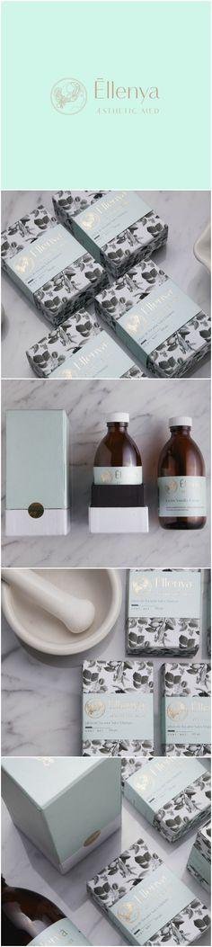 Design Agency:Monotypo Studio Project name:Ellenya Category: Cosmetics