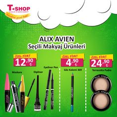 Alix Avien İle Tanışmayanlar İçin Tanışma Zamanı !  Tüm indirim ve kampanyalar için www.tshop.com.tr adresimize davetlisiniz . #kendinegüzelbak #tshopkozmetik #kampanya #indirim