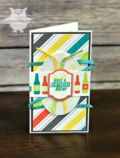 Hey there stampers!  Surprise! I have joined the One Stamp At A Time Blog Hop Team!  I'm so fortunate to be able to hop with such a talen...