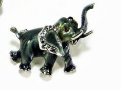 German Sterling Elephant Pin, Alice Caviness, Elephant Brooch,  Vintage Jewelry, Figural Jewelry, Sterling Marcasite, Estate Jewelry, Brooch by VintageGemz on Etsy