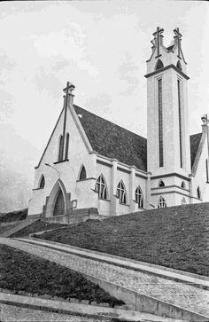 Igreja Santa Rita de Cássia, Rua Barão do Retiro, Nº388, Bairro Bonfim, em fevereiro de 1965 (foto autoria de Jorge Couri).