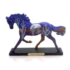 Trail Of Painted Ponies Sundown To Moonrise Figurine Height: 6 Inches Material: Polyresin Type: Figurine Brand: Trail Of Painted Ponies Item Number: Trail Of Painted Ponies 4053786LE Catalog ID: 29400