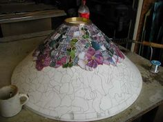 "ODYSSEY LAMP MOLD KIT FOR THE 28"" HOLLYHOCK."